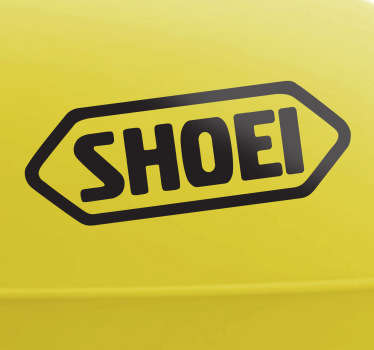 Sticker decorativo logótipo Shoei