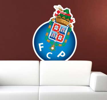 Autocolante de futebol F.C Porto. Adquire este fantástico vinil autocolante do F.C. Porto , de grande qualidade e por um preço económico.