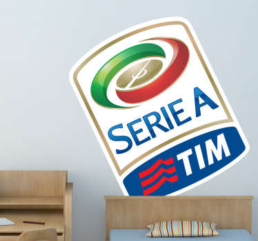 Vinilo logo Serie A