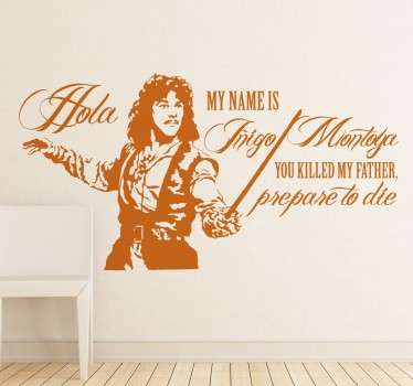 Inigo Montoya Quote Wall Sticker