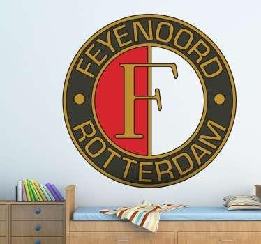 Feyenoord Rotterdam voetbal logo Sticker