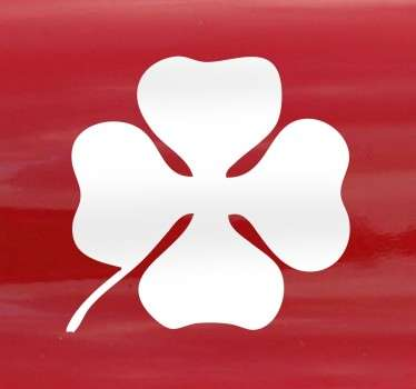Vinilo decorativo Alfa Romeo trébol