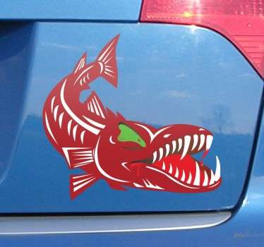 Hungry Barracuda Decal
