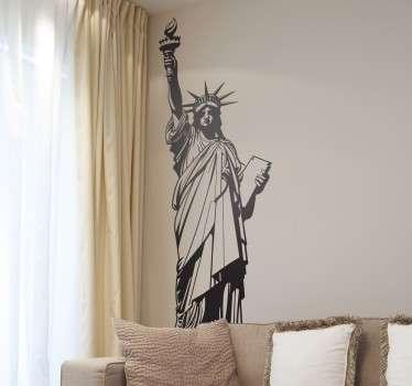 Socha svobody nyc nálepka na zeď