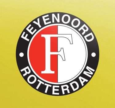 Sticker logo Feyenoord Rotterdam
