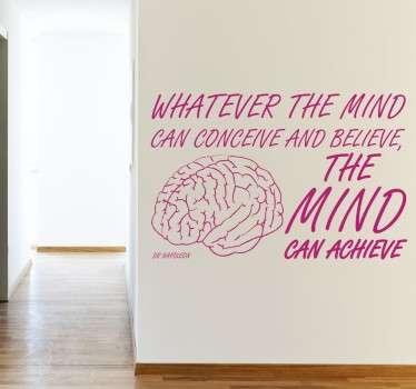 Sticker mind can achieve