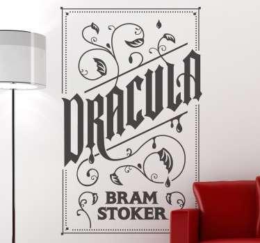 Sticker affiche Dracula