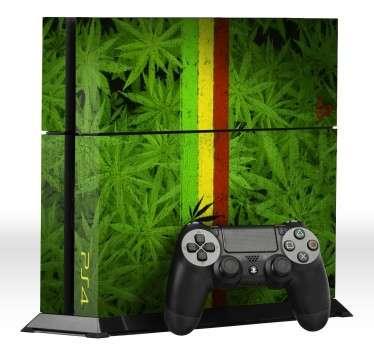 Vinilo para PS4 marihuana