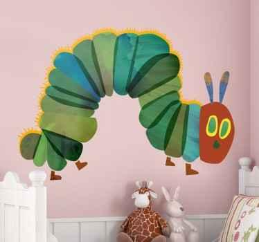 Hungrig caterpillar vägg klistermärke