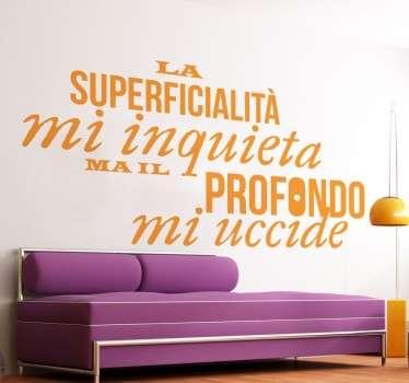 Stencil muro Alda Merini