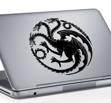 House Targaryen Crest Laptop Sticker