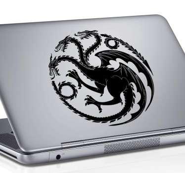 Sticker para portátil Casa Targaryen