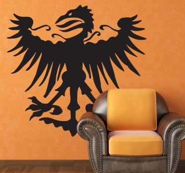 Vinilo decorativo Emblema Mallister