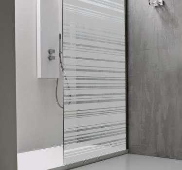 Naklejka do łazienki kod kreskowy