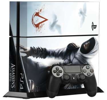 Assassin´s Creed Ps4 Sticker