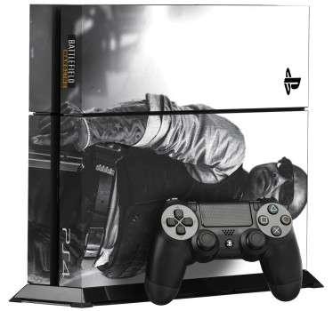 Naklejka na PS4 Battlefield Hardline