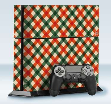 Tablecloth Pattern PS4 Skin