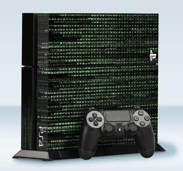 PS4 code matrix