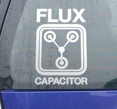 Sticker flux capacitor