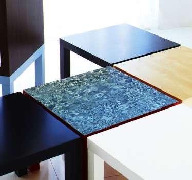 Wasser Textur Aufkleber Ikea Möbel