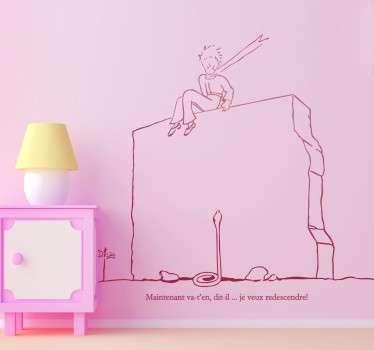 Little Prince On Wall Sticker