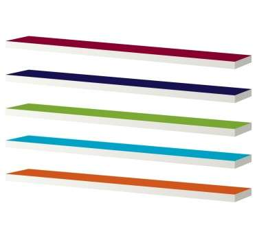 Colour Shelf LACK Decal