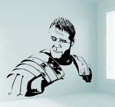 Wall sticker decorativo Il gladiatore