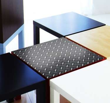 Vinilo decorativo Metal LACK