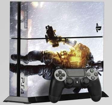 Aufkleber PlayStation 4 Battlefield 4