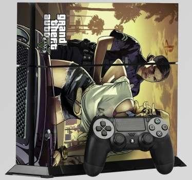 Grand Theft Auto PlayStation 4 Skin