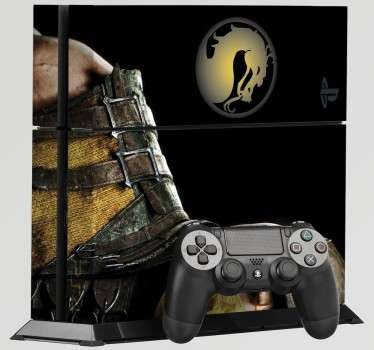 PS4 Aufkleber Mortal Kombat