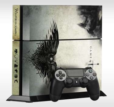 Game of Thrones Crow PS4 Skin