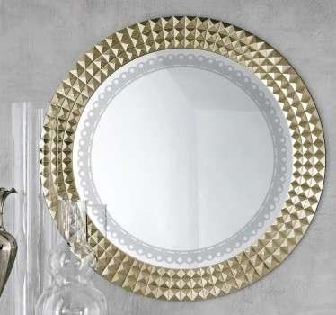 Vinilos para espejos para una decoraci n original tenvinilo for Espejos redondos para decoracion