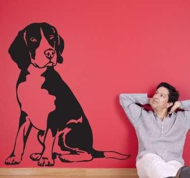 Beagle Dog Wall Sticker