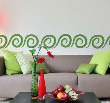 Spiral Pattern Sticker