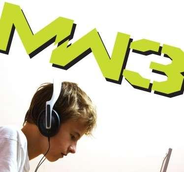 Naklejki logo WM3