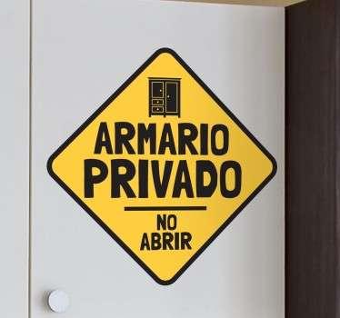 Vinilos infantiles para armarios privado