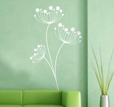 Modern Dandelions Wall Sticker