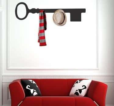 Key Hanging Rack Sticker