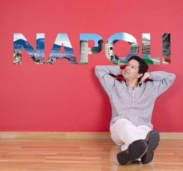 Text Napoli Sticker