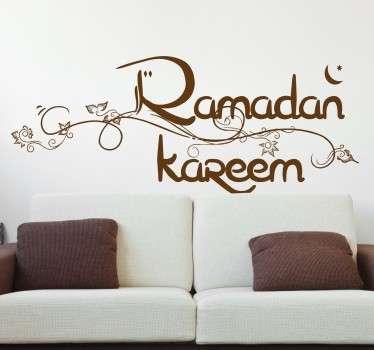 Ramadan Kareem Muursticker