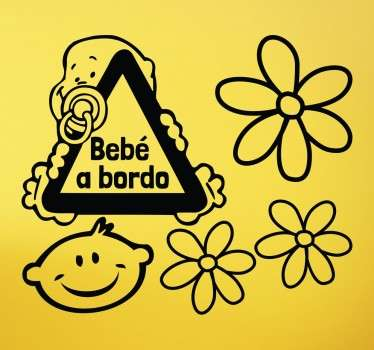 Sticker bebe a bordo