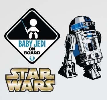 Star Wars Baby Jedi Sticker Pack
