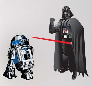 Colección de pegatinas para los más entusiastas de las películas de Star Wars y que han visto varias veces toda la saga. Decorad vuestros complementos y estancias con esta serie de jedis y sith o con el clásico robot R2D2