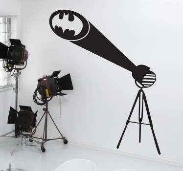 Si vous êtes un vrai fan des aventures de ce célèbre super-héros, ce sticker Batman est fait pour vous.