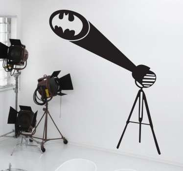 Naklejka znak Batman