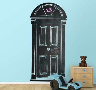 Naklejka tablica drzwi