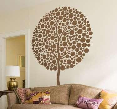 Circular Tree Sticker