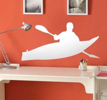 Autocolante decorativo kayak