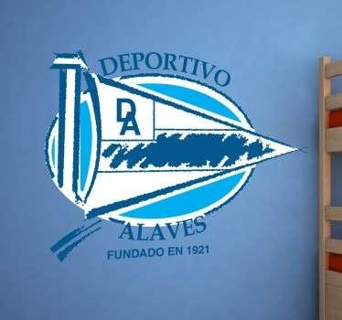 Vinilos deportivos basados en equipos de la Liga Española, en este caso el Alavés.